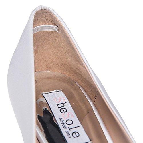 Femme Blanc Pour Shoezy Blanc Escarpins Femme Pour Escarpins Shoezy ZnRqU6a