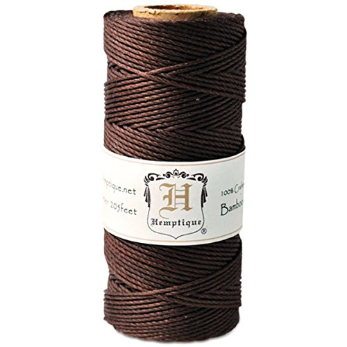 - Hemptique Bamboo Cord Spool 20lb 205'-Brown