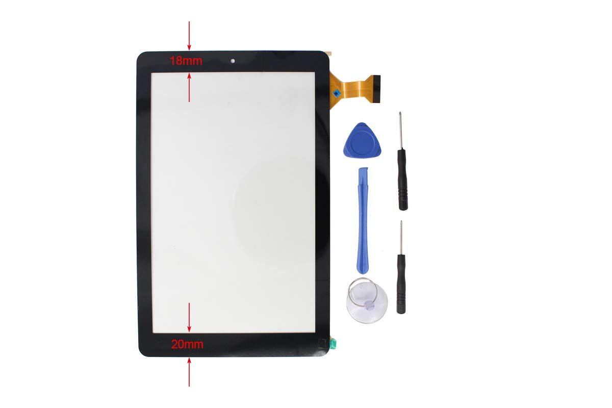 Digitizer Touch Screen Panel Replacement for RCA 10 Viking Pro 10.1'' RCT6303W87 RCT6303W87DK Tablet