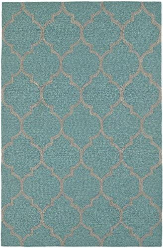 Dalyn Rugs Indoor or Outdoor Cabana Rugs, 8 x 10 , Robins Egg