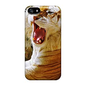 Tough Iphone Opi7751rBkl Case Cover/ Case For Iphone 5/5s(a Tiger's Roar)