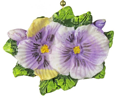 - Pansies Flowers Floral Porch Ceiling Ceiling Fan Light Pull
