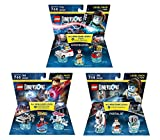 Ghostbusters Peter Venkman Level Pack + Back To The Future Marty McFly Level Pack + Portal 2 Level Pack - Lego Dimensions (Non Machine Specific)