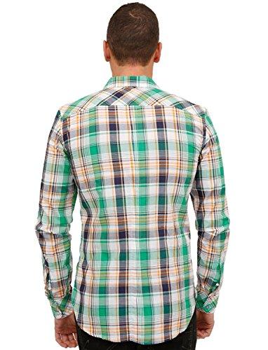 DIESEL chemise homme SAISATI vert - M,L,XL,XXL