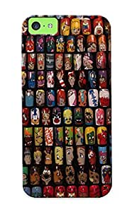 New Premium Trinalgrate Polish Art Addiction Exhibit Project Revealed Skin Case Cover Excellent Fitted For Iphone 5c