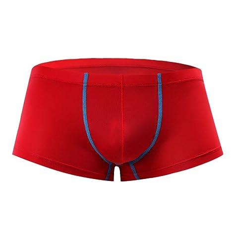 Ropa interior, YanHoo Hombres Calzoncillos transparentes de la ropa interior Calzoncillos calzoncillos de la bolsa