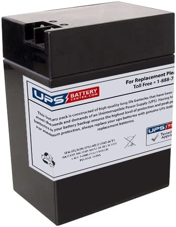 6V 13Ah FP Replacement Battery for ELPower EP695