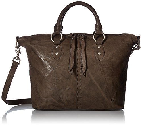 Leather Satchel Charcoal FRYE Veronica Handbag qaBxpxE5wH