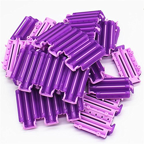 36Pcs/Bag Hair Clip Wave Perm Rod Bars DIY Roots Preming Fluffy ing Styling Tool show by HAHUHERT (Image #2)