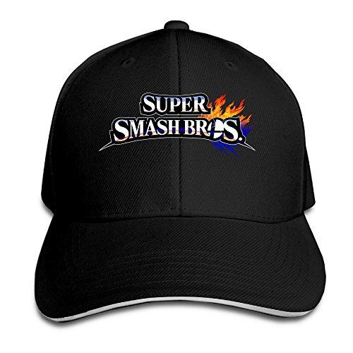 MARC Custom Super Smash Bros. For Wii U Unisex Travel Headwear ()