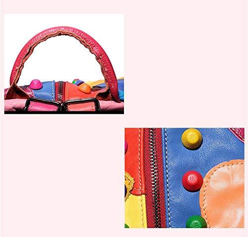 à femme main porté Sac Multicolore dos unique taille Zoomlie au fqA6HnZ