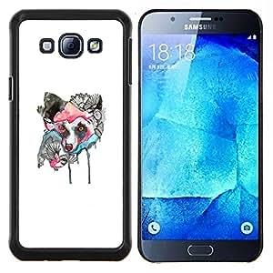 Stuss Case / Funda Carcasa protectora - Lobo japonesa - Samsung Galaxy A8 A8000