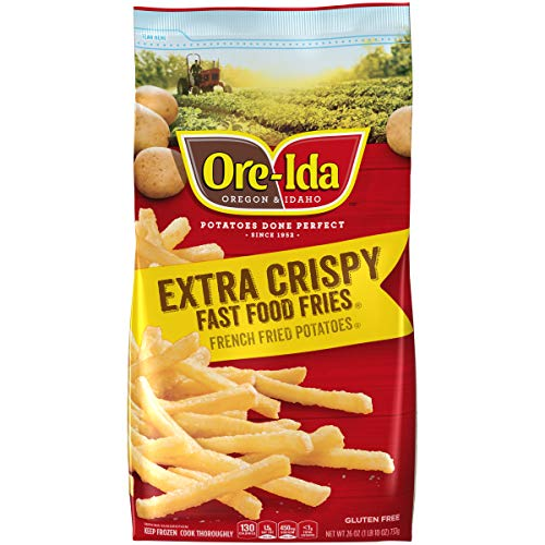 Ore-Ida Extra Crispy Fast Food Fries, 26 oz (Frozen)