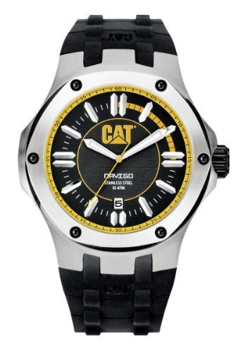 CAT Men's A114121127 Navigo Date Analog Watch - Cats 2012 Calendar