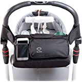 EllaKid Stroller Organizer with Removable Shoulder Strap, Fits All Strollers, Premium Quality Parent Console with Lifetime Warranty