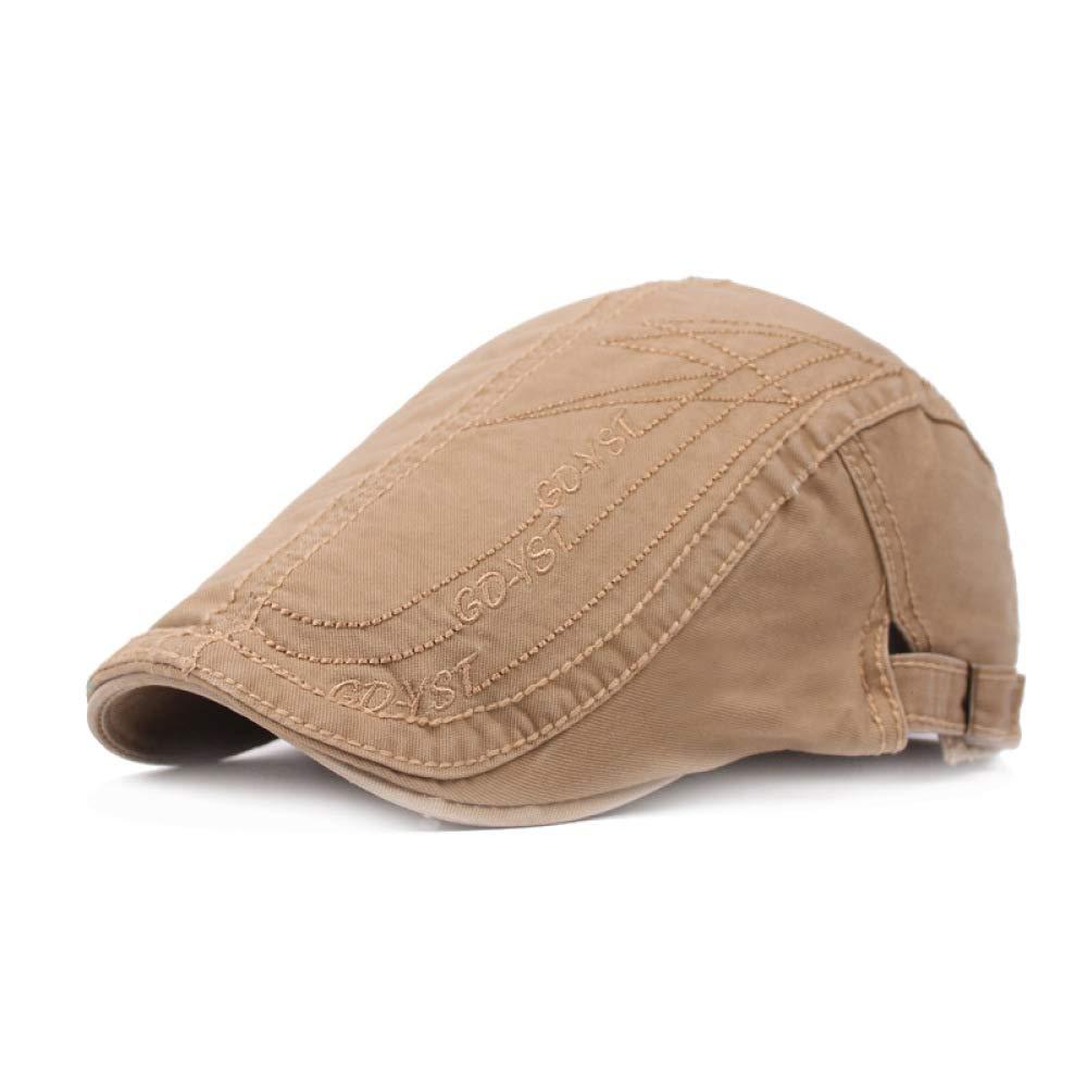 KFEK Gorra de algodón Boina para Hombre British Leisure Sun Hat ...