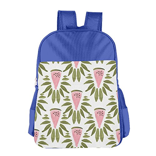 Price comparison product image GABRIELA ROSALES Watermelon And Leaves Elegant Holiday Unisex Bag Children's Backpack Bag School Sport Bags Shoulder Backpacks Kids' Schoolbag Bags Satchel