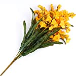 Factory-Direct-Craft-Golden-Yellow-Artificial-Freesia-Bush