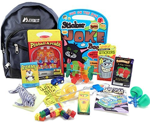 The Pack by Fun On The Fly - Travel Toy Activity Bag for Boys Ages 5 & (Stix Oriental)