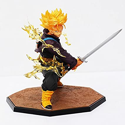 Amazoncom 14cm Dragon Ball Z Figurines Super Saiyan Trunks Battle