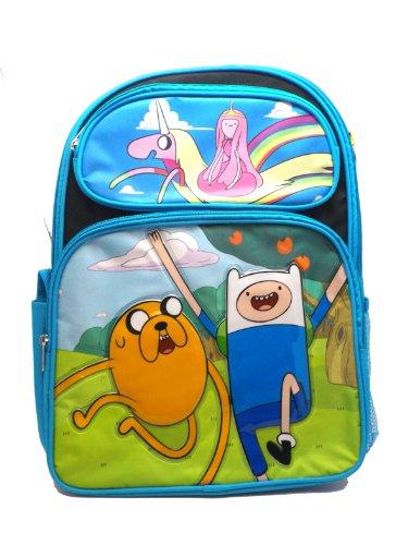 Ruz Adventure Time Jake, Finn and Princess Bubblegum Backpack Bag