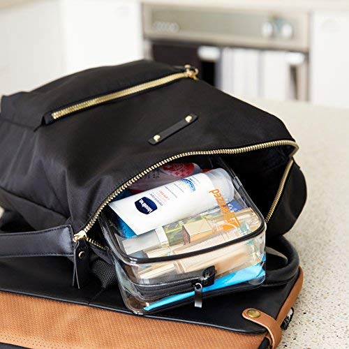 TSA Approved Toiletry Bag for Carry On Luggage Harris Trading Co. Organized Explorers Clear Travel Toiletry Bag 2 pack