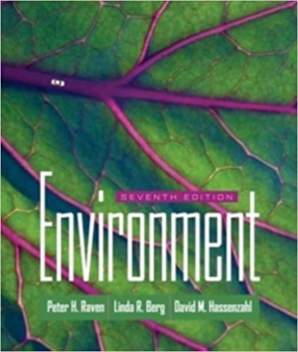 Environment peter h raven linda r berg david m hassenzahl environment 7th edition fandeluxe Gallery