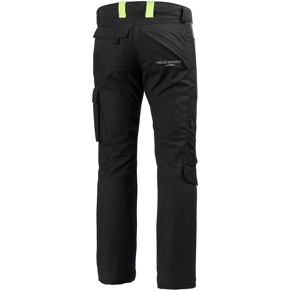 Helly Hansen 77400_999-C48 Aker Work Pants, C48, Black/Charcoal by Helly Hansen (Image #2)