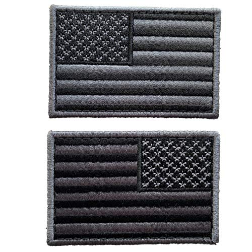 uuKen Bundle 2pcs Tactical USA Flag Patch 3