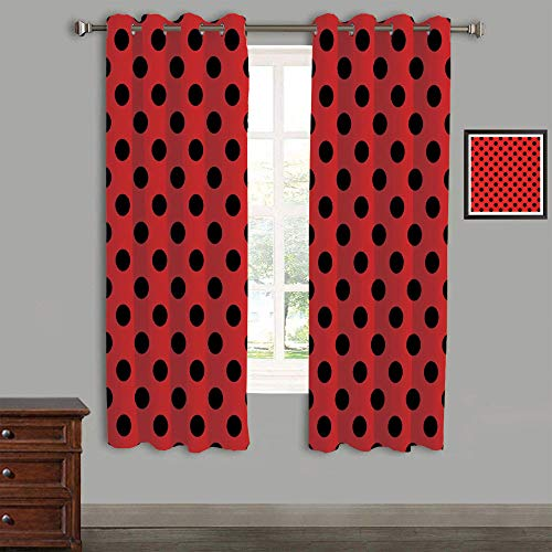 AngelSept Lovely Children Curtains Drapes,Polyester Curtains Panels,2 Panels,58