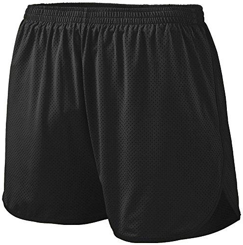 Augusta Sportswear Boys' Solid Split Short S Black