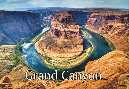 Grand Canyon  Arizona  Horseshoe Bend  United States National Park  Magnet 2 X 3 Fridge Photo Magnet