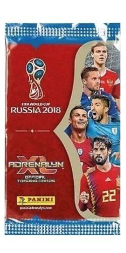 393c8bbb0e8 Panini 2018 WORLD CUP RUSSIA Adrenalyn XL Soccer Cards. TWENTY (20) Packs.  Look for Stars Like Lionel Messi