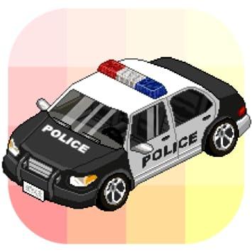 Car Color By Number Pixel Art Car