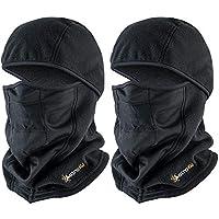 AstroAI 2-Pack of Ski Mask Balaclava Winter Face Mask