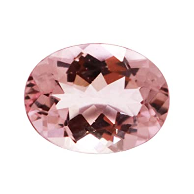 7af9b5589705b Gold Rack Mozambique 10x8mm Pink Morganite Oval Cut 2.08 Cts Baby ...