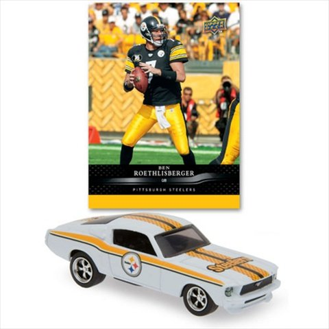 Upper Deck 2008 NFL Pittsburgh Steelers 1967 Mustang Fastback With Ben Roethlisberger ()