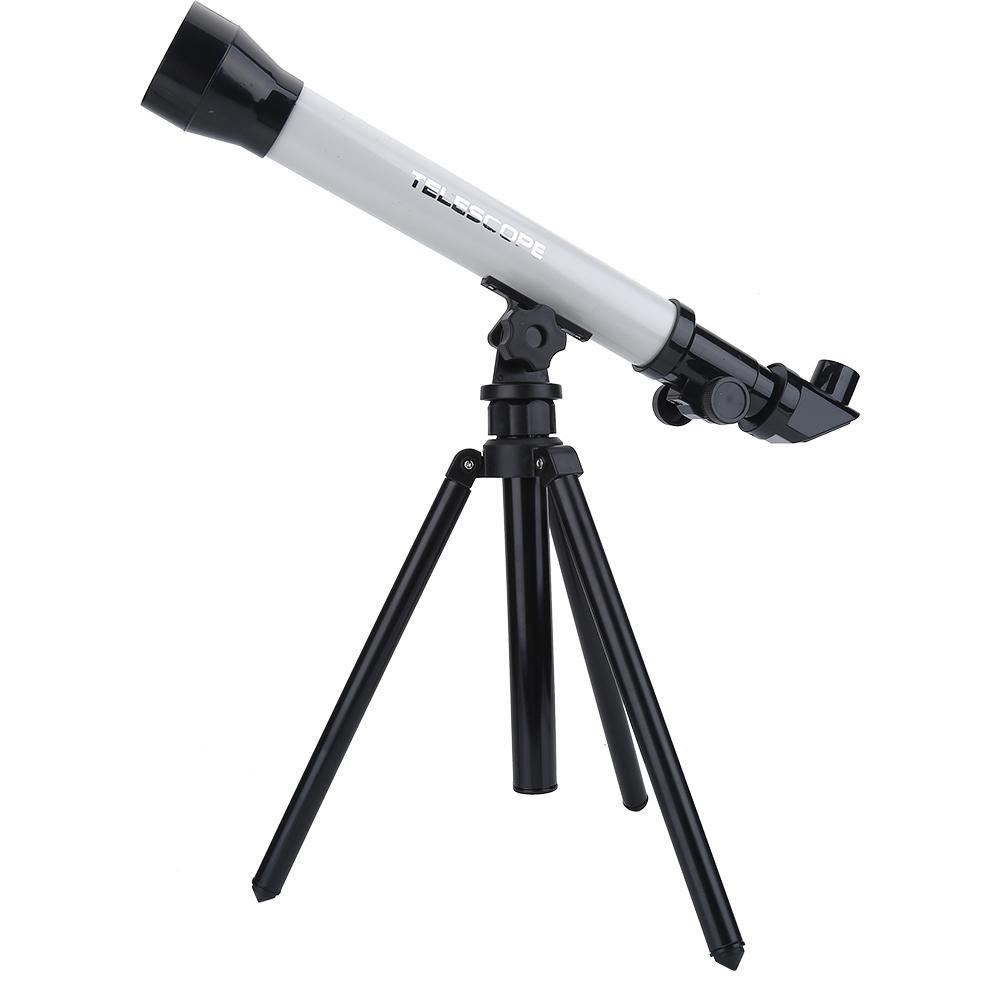 Telescopio per Bambini, Telescopio Astronomico Regolabile 20X / 40X / 60X con Treppiede(Viola) VGEBY