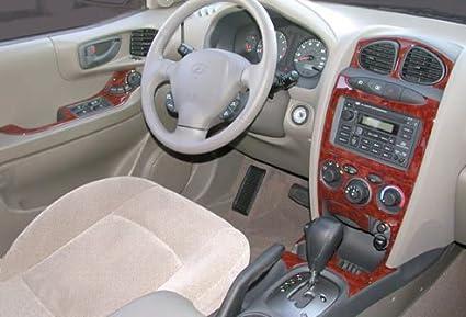 amazon com hyundai santa fe interior burl wood dash trim kit set 2002 2004 2004 automotive hyundai santa fe interior burl wood dash trim kit set 2002 2004 2004