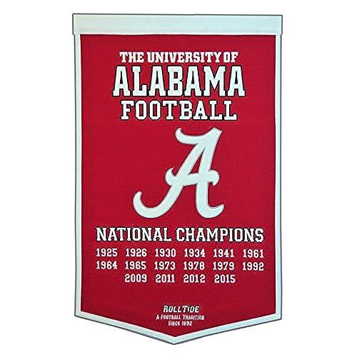NCAA Alabama Crimson Tide Dynasty Banner
