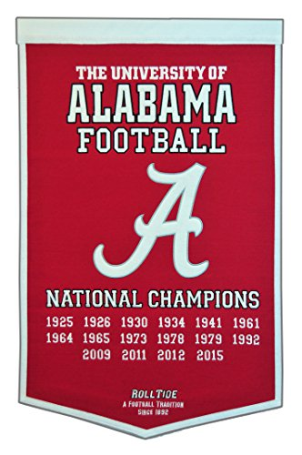 Winning Streak NCAA Alabama Crimson Tide Dynasty Banner