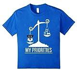 My Priorities Miniature Schnauzer T-Shirt