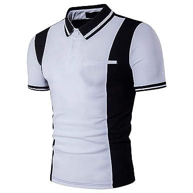 Camisas Polo Camisa De Manga Corta Polo De Modernas Casual con ...