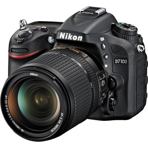 Nikon D7100 24.1 MP DX-Format CMOS Digital SLR with 18-140mm f/3.5-5.6G ED VR Auto Focus-S DX NIKKOR Zoom Lens ()