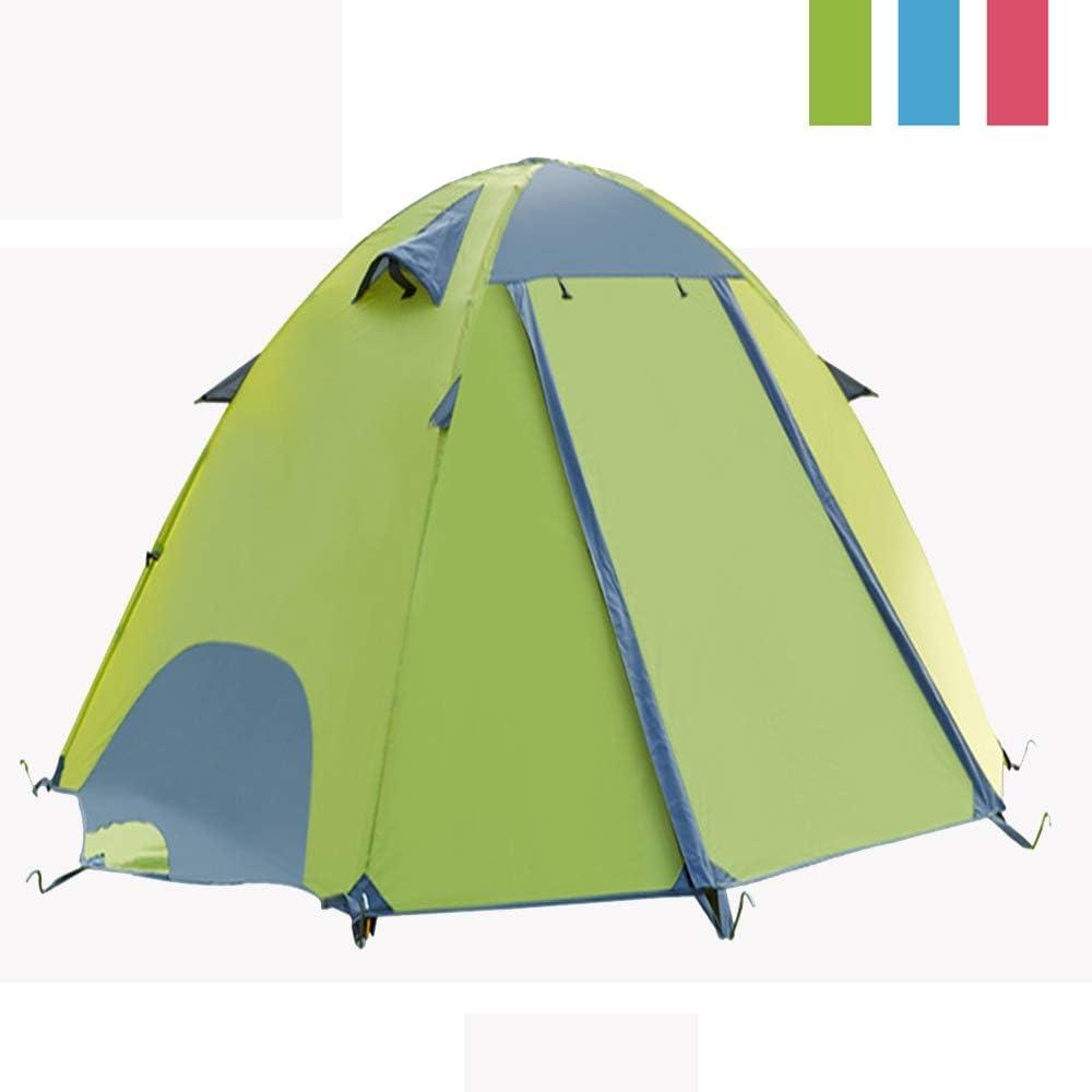 ACEWD Backpacking Tent 2 Person,3 Seizoen Ultralight Waterdichte Camping Tent, Grote grootte Eenvoudige Setup Tent voor Familie, Buiten, Wandelen en Alpinisme Groen