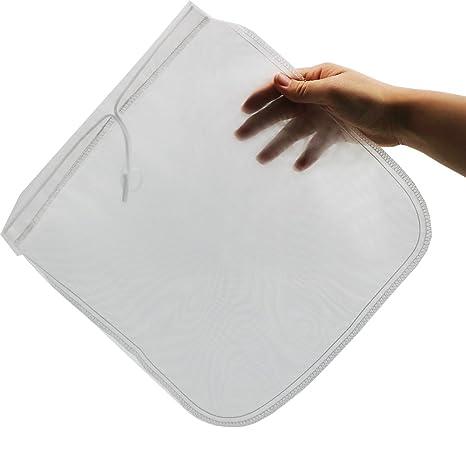 """2 PC 12 """"x12"""" tuerca de leche bolsa de nylon para Estameña colador"""