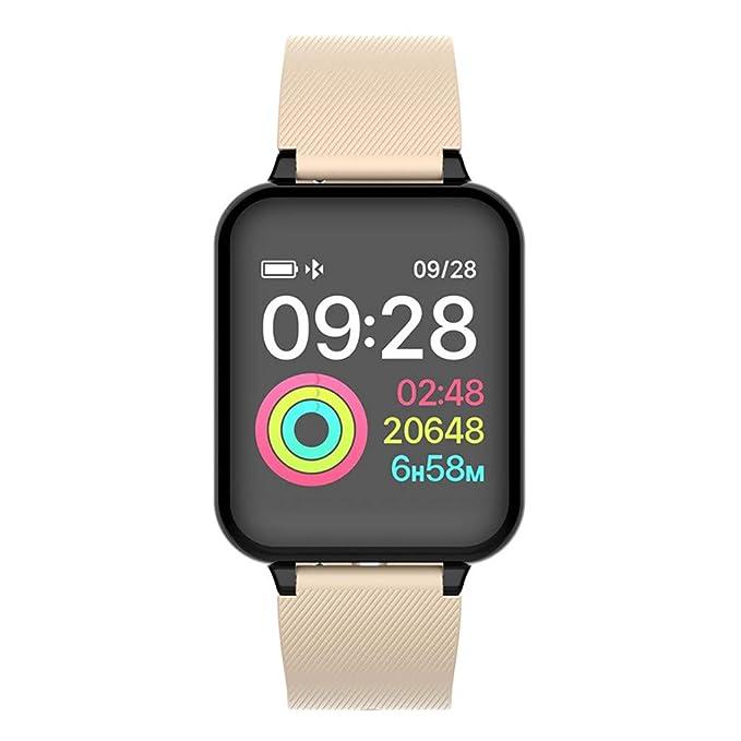 Amazon.com: Reloj inteligente Finme con monitor de ritmo ...