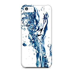 linJUN FENGFirst-class Case Cover For iphone 5/5s Dual Protection Cover Water Flash 2