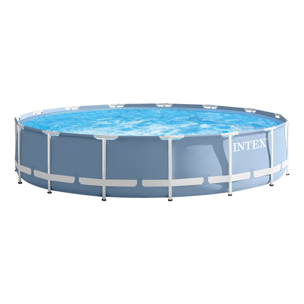 Intex Development Company Limited Frame Piscina Portante Prisma con Pompa Filtro e Accessori, 181495