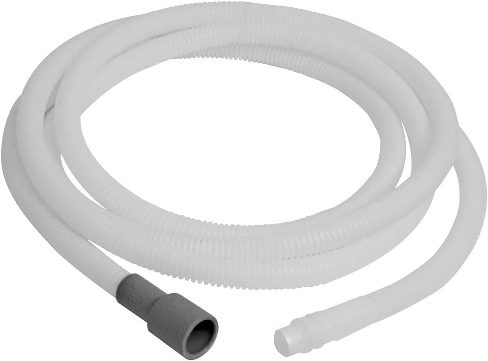 Eastman 70486 69010 Dishwasher Discharge Hose, 12 Ft Length, White, Feet